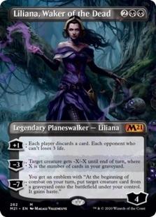 Liliana, Waker of the Dead <borderless> [M21]