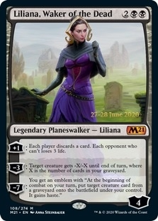 Liliana, Waker of the Dead <prerelease> [M21] (F)