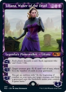 Liliana, Waker of the Dead <showcase> [M21]