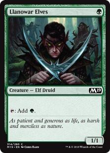 FNM Foil NM MTG Promo Magic Llanowar Elves