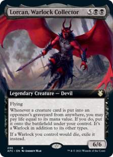 Lorcan, Warlock Collector <extended> [AFC]