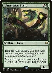 Managorger Hydra <planeswalker stamp> [ORI]