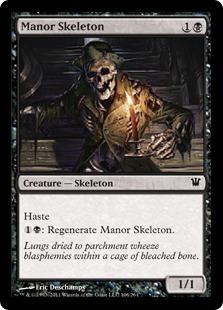 Manor Skeleton