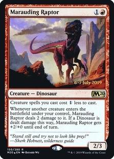 Marauding Raptor <prerelease> [M20] (F)