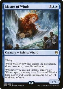 Master of Winds <planeswalker stamp> [ZNR]