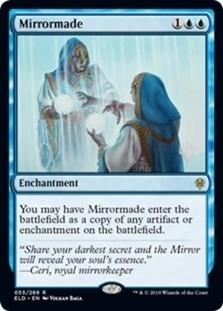 Mirrormade <planeswalker stamp> [PELD]