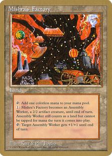 Mishra's Factory <Mark Justice> [PTC]