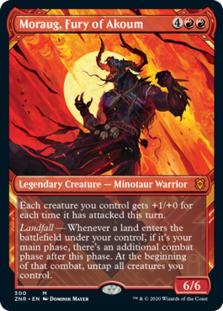 Moraug, Fury of Akoum <showcase> [ZNR]
