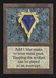 Mox Sapphire [CED]