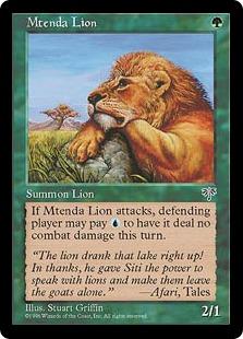 Mtenda Lion