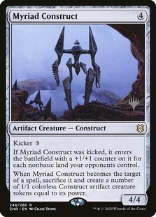 Myriad Construct <planeswalker stamp> [ZNR]