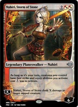 Nahiri, Storm of Stone [PRM] (F)