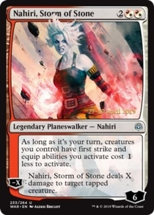 Nahiri, Storm of Stone [PRM-PRE] (F)