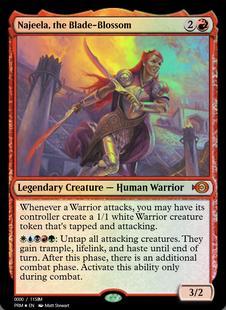 Najeela, the Blade-Blossom [PRM] (F)
