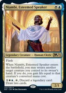 Niambi, Esteemed Speaker [M21]