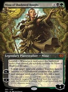 Nissa of Shadowed Boughs [PRM]