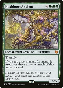 Nyxbloom Ancient <planeswalker stamp> [THB]