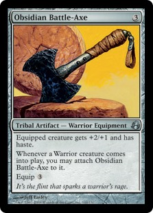 Obsidian Battle-Axe