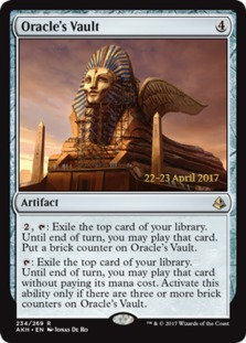 Image result for oracles vault mtg