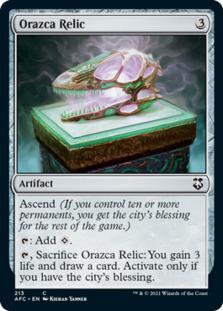 Orazca Relic