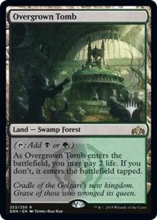 Overgrown Tomb <planeswalker stamp> [PELD]