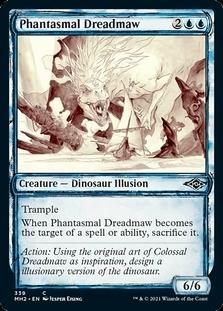 Phantasmal Dreadmaw <showcase> [MH2]