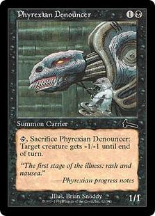 Phyrexian Denouncer [UL]