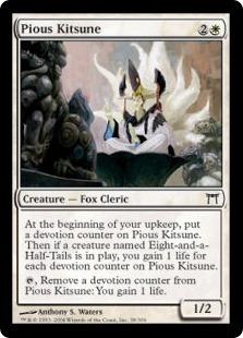 Pious Kitsune