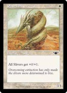 Plated Sliver