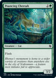 Pouncing Cheetah