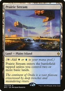 Prairie Stream <planeswalker stamp> [BFZ] (F)
