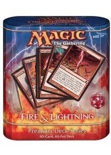 Premium Deck Series: Fire and Lightning