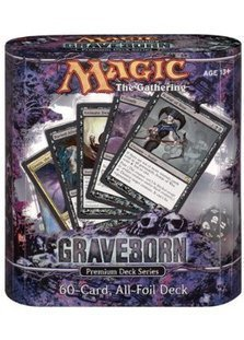 MTG Rare Magic the Gathering Graveborn 1x FOIL BURIED ALIVE