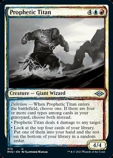 Prophetic Titan <showcase> [MH2]