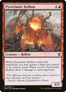 Pyroclastic Hellion [ZNR] (F)