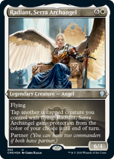 Radiant, Serra Archangel [PCMR] (F)