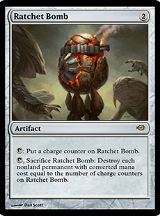 ~ Magic The Gathering Ratchet Bomb ~ Magic 2014 ~ Excellent