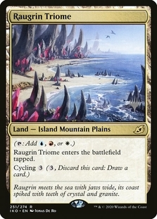 Raugrin Triome <planeswalker stamp> [PIKO]