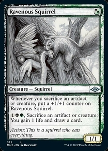Ravenous Squirrel <showcase> [MH2]