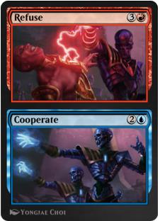 Refuse // Cooperate