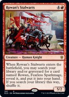 Rowan's Stalwarts