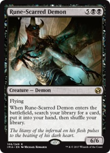 Rune-Scarred Demon