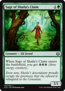 Sage of Shaila's Claim