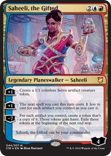 Saheeli, the Gifted