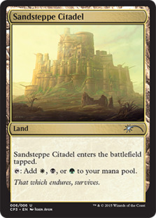 Sandsteppe Citadel