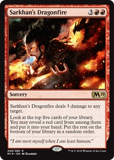 Sarkhan's Dragonfire