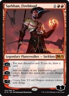 Sarkhan, Fireblood [PRM-PRE] (F)