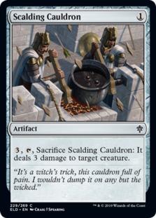 Scalding Cauldron [ELD] (F)
