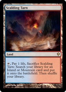 Image result for Scalding Tarn mtg