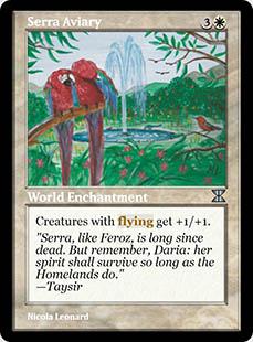 Serra Aviary